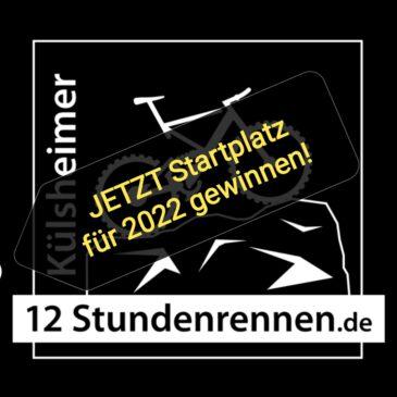 JETZT Startplatz für 2022 gewinnen!
